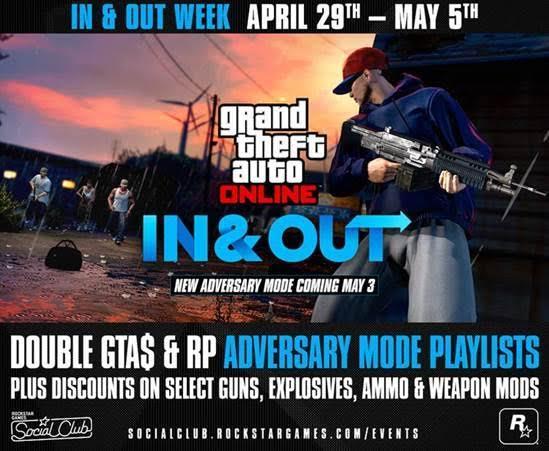 GTA Online: Rockstar svela la Modalità Avversario In and Out