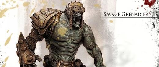 Gears of War 3, Game Informer mostra i nuovi nemici