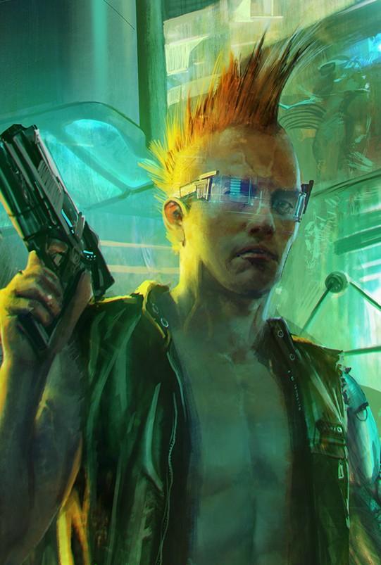 CD Projekt: il primo artwork del nuovo RPG