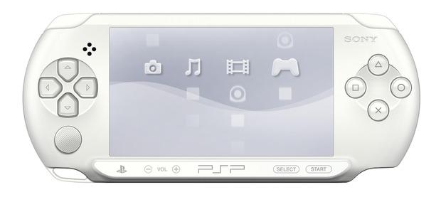PSP: annunciata in Europa la colorazione Ice White per il modello E-1000