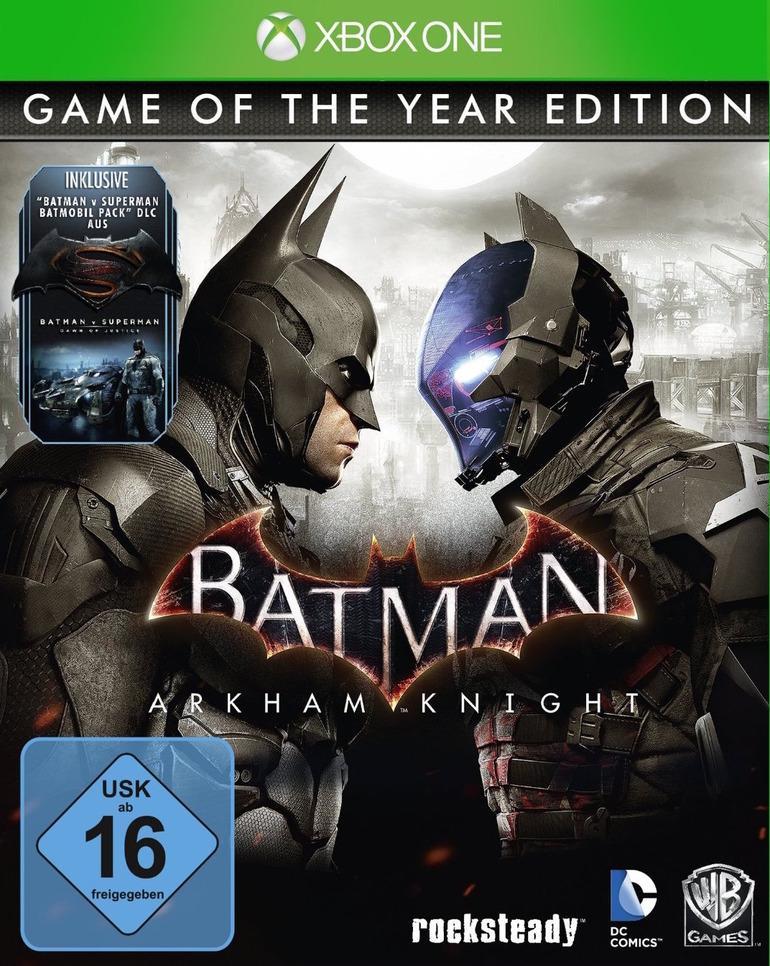Batman Arkham Knight Game of the Year Edition compare (e scompare) su Amazon