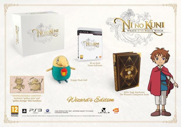 Namco Bandai annuncia la Ni no Kuni: La minaccia della Strega Cinerea - Wizard's Edition
