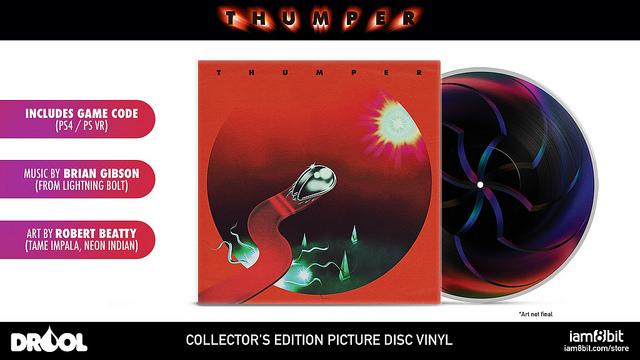 Thumper: svelati collector's edition e data di lancio