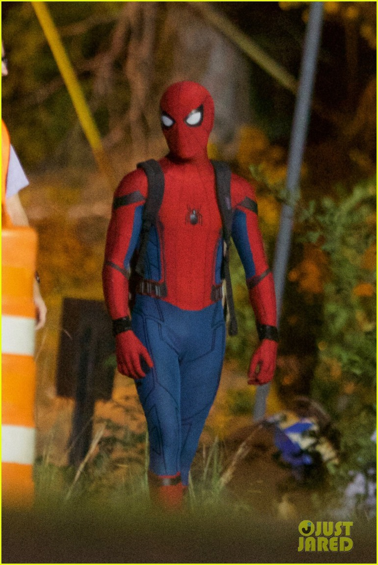 Nuove Foto Dal Set Di Spiderman Homecoming