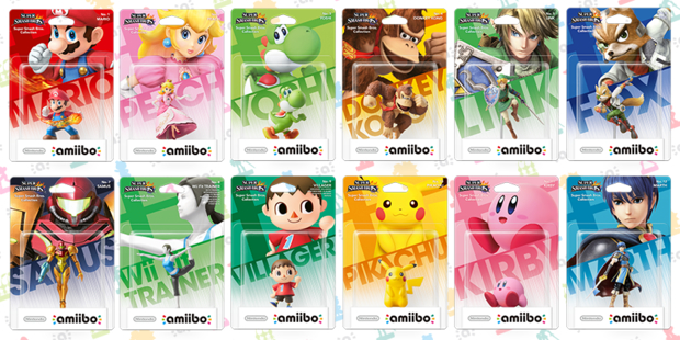 Nintendo svela le action figure amiibo su Twitter