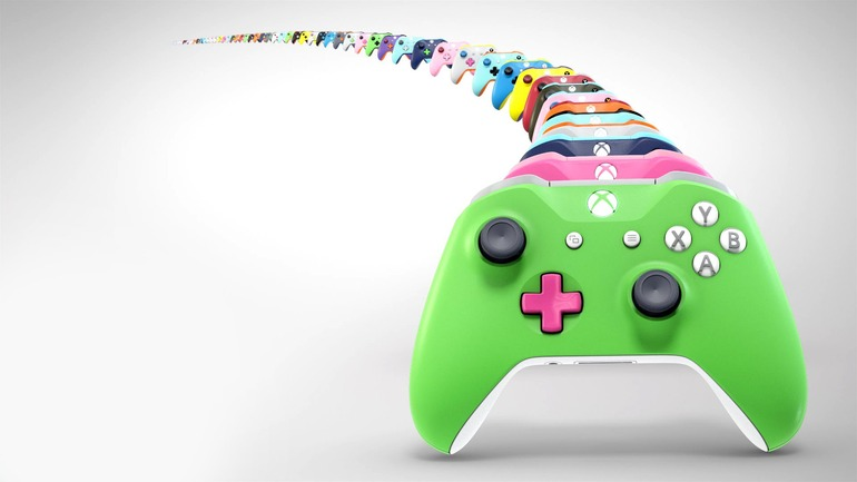 Spediti i primi controller Xbox One personalizzati con Xbox Design Lab
