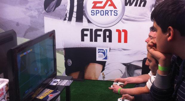 Lucca Games: al via il torneo di FIFA 11