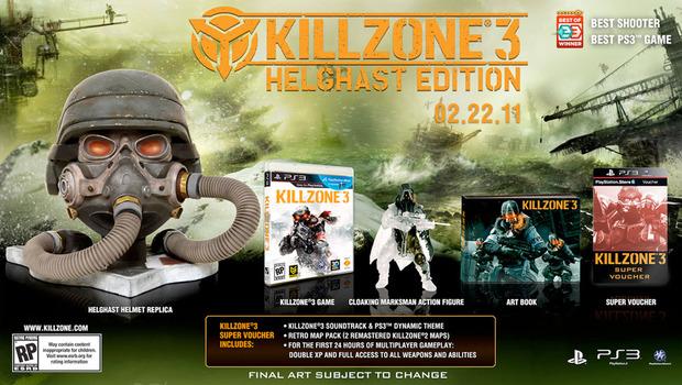 Killzone 3: rivelata la Helghast Edition
