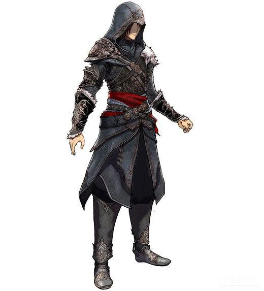 Final Fantasy XIII-2: cameo di Assassin's Creed con il costume di Ezio Auditore