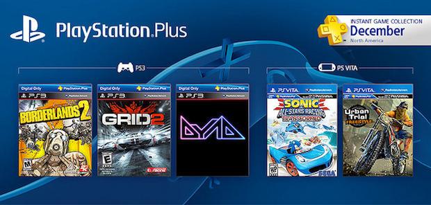 PlayStation Plus: contenuti di dicembre per i giocatori americani