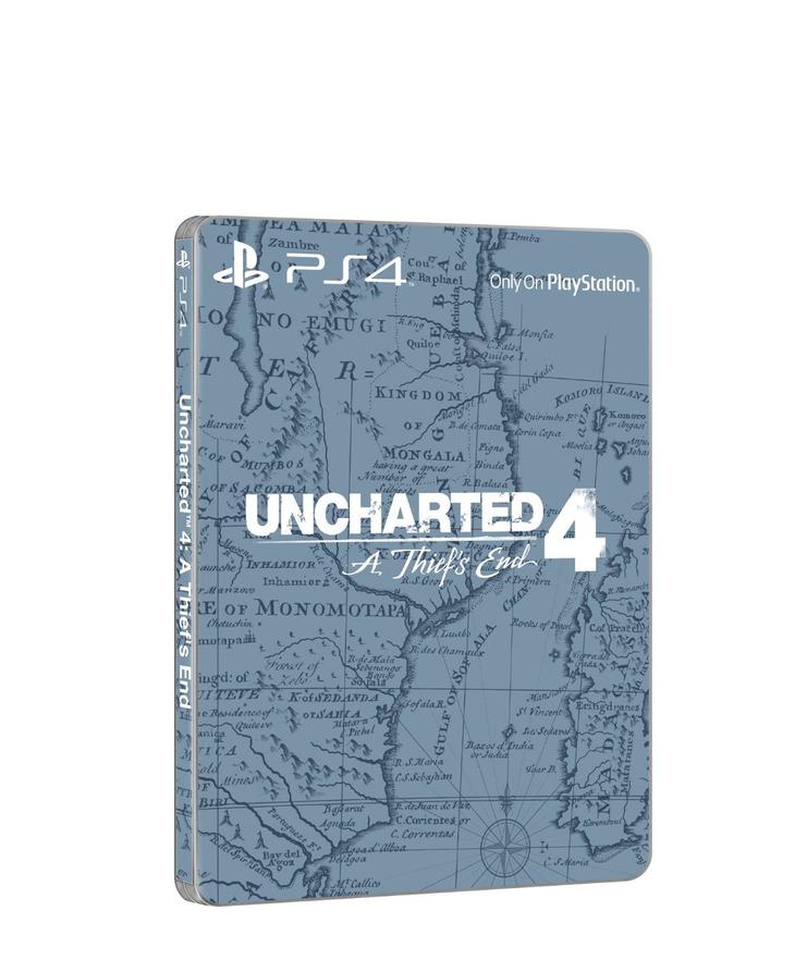 Uncharted 4: la Steelbook Edition compare su Amazon Germania
