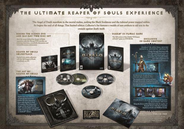Diablo 3: Reaper of Souls, contenuti della collector's edition