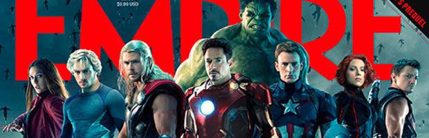 Avengers: Age of Ultron, ecco la cover di Empire senza scritte