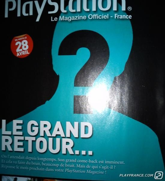 Teaser dalla rivista Official PlayStation Magazine francese
