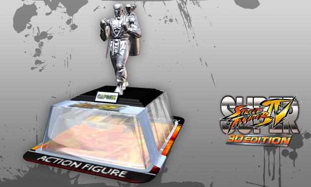 Super Street Fighter 4 3D Edition: il codice per sbloccare un'esclusiva statuetta di Ryu