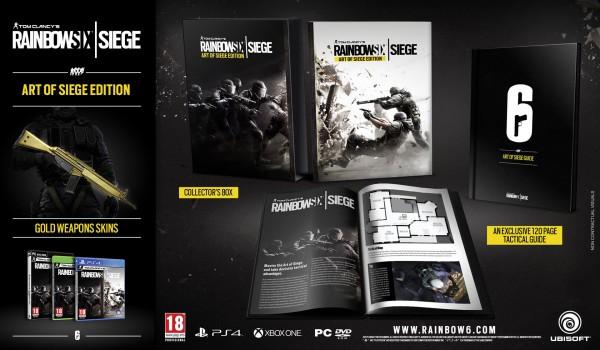 L'edizione da collezione di Rainbow Six Siege contiene una guida - Pubblicati due nuovi filmati