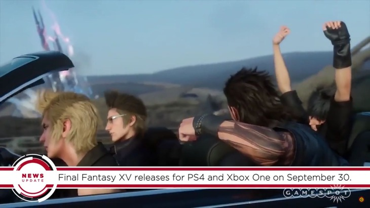 Final Fantasy XV: GameSpot rivela in anticipo la data di uscita del gioco