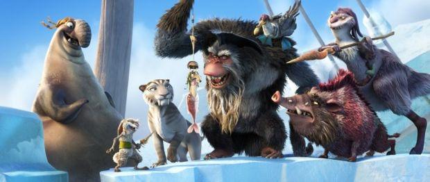 L'era glaciale 4, nuove immagini mostrano alcuni nuovi personaggi
