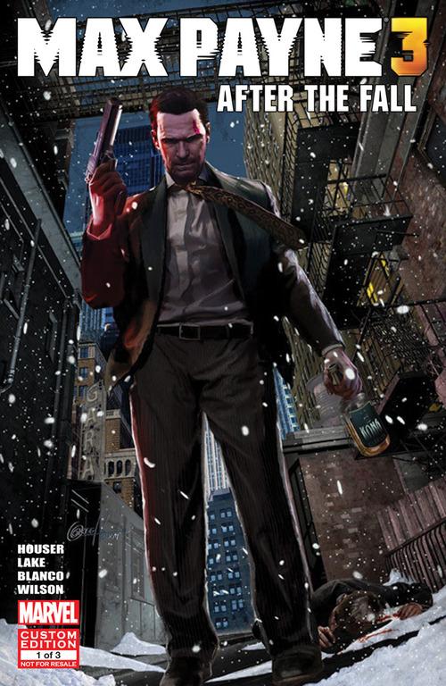 Max Payne 3: il primo numero del fumetto digitale disponibile dal 3 Maggio