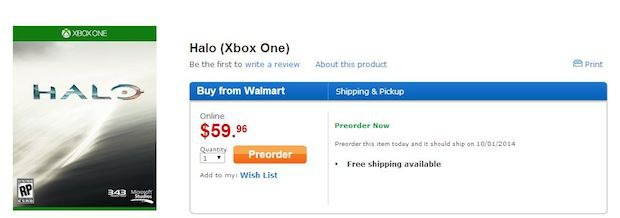 Halo per Xbox One uscirà a ottobre?