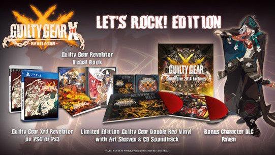 Guilty Gear Xrd Revelator: Let's Rock Edition annunciata per l'Europa