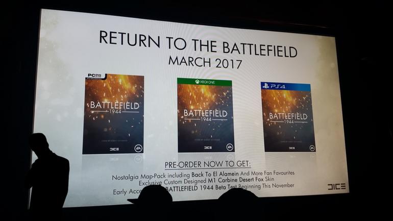 Battlefield 1944 in uscita a marzo 2017: l'immagine trapelata sul web è falsa