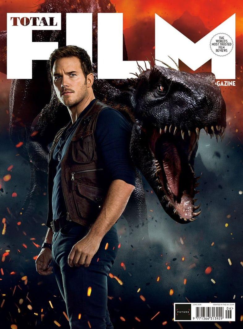 Jurassic World: il Regno Distrutto, Chris Pratt e bestione