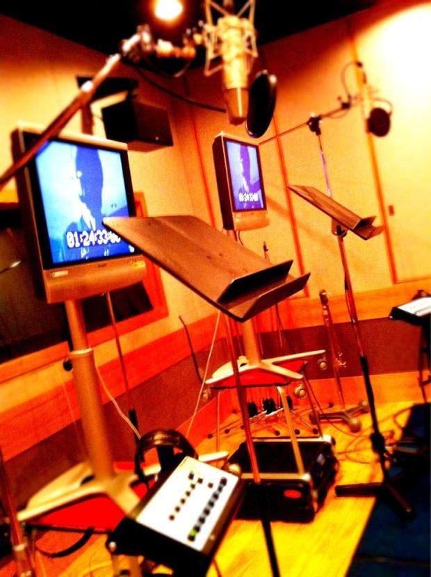 Kojima in sala di registrazione