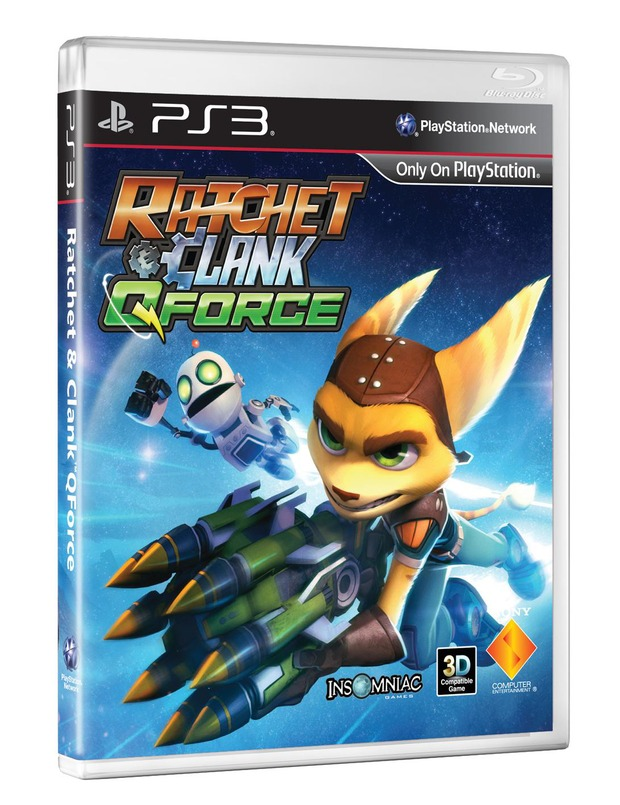 Insomniac annuncia Ratchet & Clank: QForce per PS3