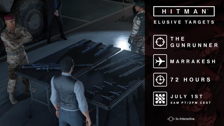 Hitman: Il prossimo Elusive Target arriva domani