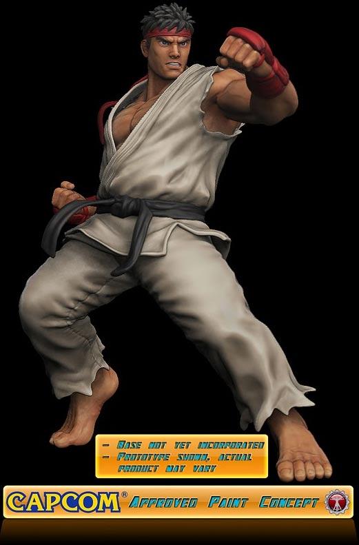 SOTA Toys festeggia i 10 anni con una statua di Ryu
