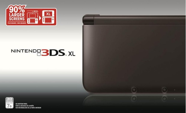 Nintendo 3DS XL: la variante nera arriva l'11 Agosto in Nord America