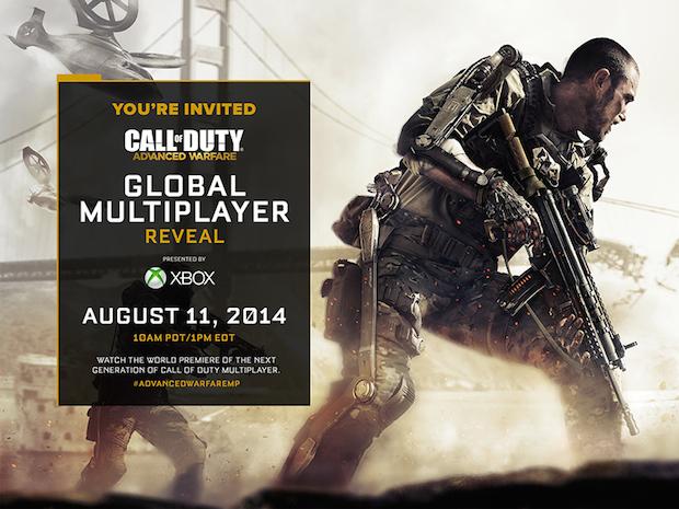Call of Duty Advanced Warfare: il multiplayer sarà svelato l'11 agosto