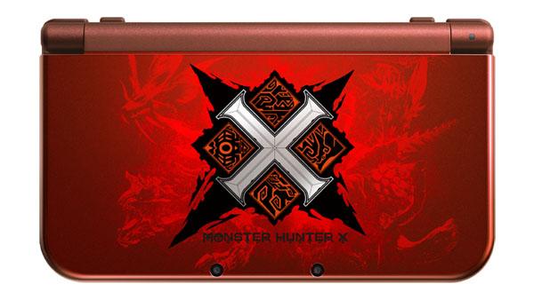 Monster Hunter X: annunciato un bundle in edizione limitata con console personalizzata