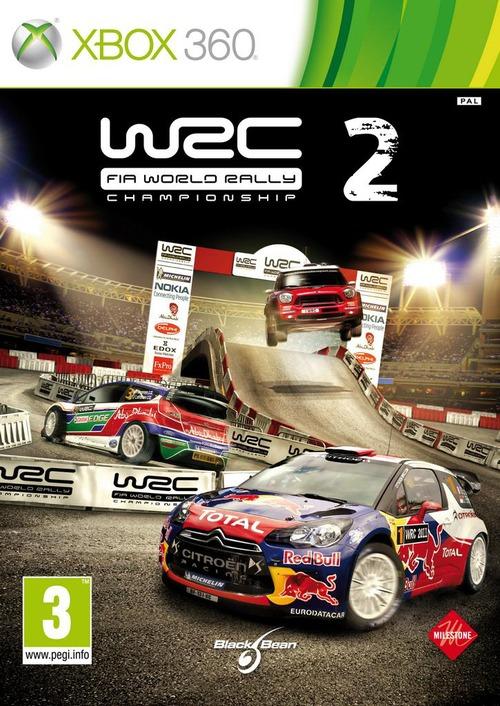 WRC 2: la box art ufficiale