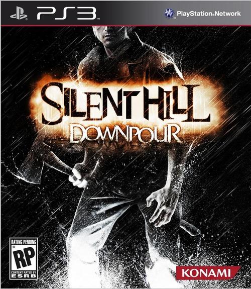 La copertina americana di Silent Hill Downpour