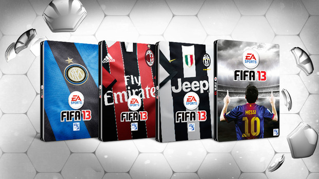 In arrivo le nuove steelbox da collezione di Fifa 13