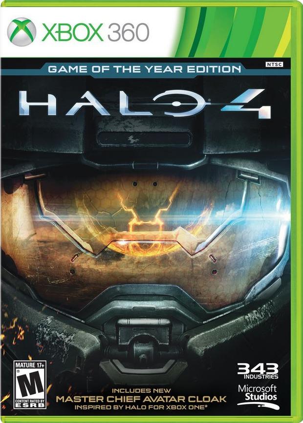 Halo 4: pubblicata la cover ufficiale dell'edizione GOTY