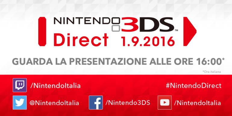 Nintendo 3DS Direct in onda oggi pomeriggio alle 16:00