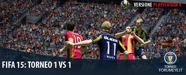 [PS4]FIFA 15: Torneo 1 Vs 1 - Notizia