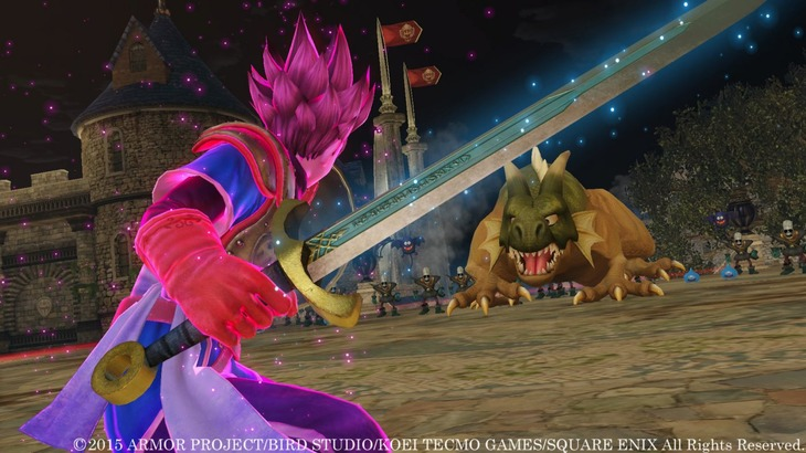 Dragon Quest Heroes si mostra in nuove immagini