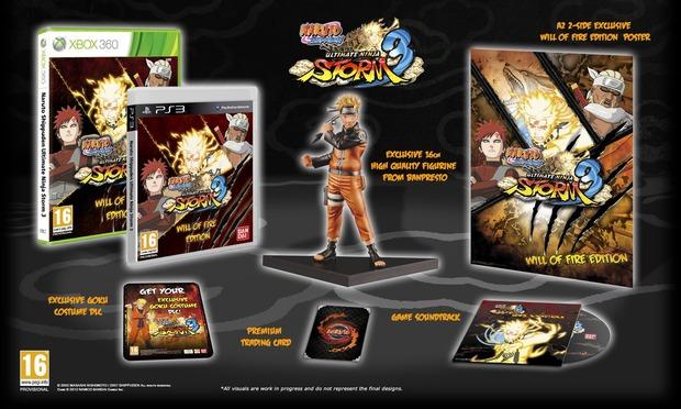 Naruto Shippuden: Ultimate Ninja Storm 3: annunciate due edizioni speciali in Europa