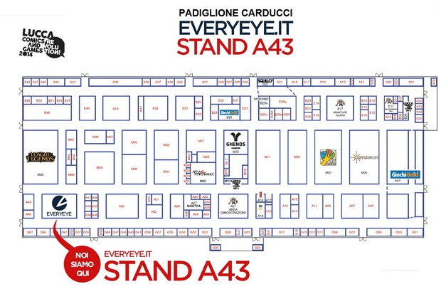 Everyeye a Lucca Comics & Games 2014: presentazioni, anteprime e dove trovarci - Notizia