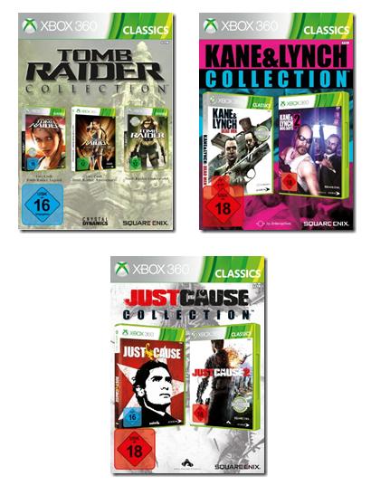 Square-Enix lancia le collection di Tomb Raider, Just Cause e Kane & Lynch