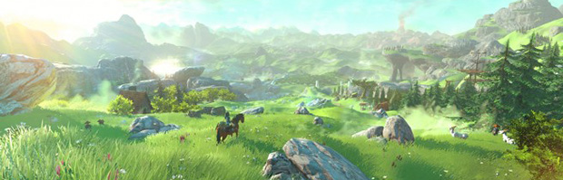 The Legend of Zelda: nuovi dettagli sul mondo di gioco - Notizia