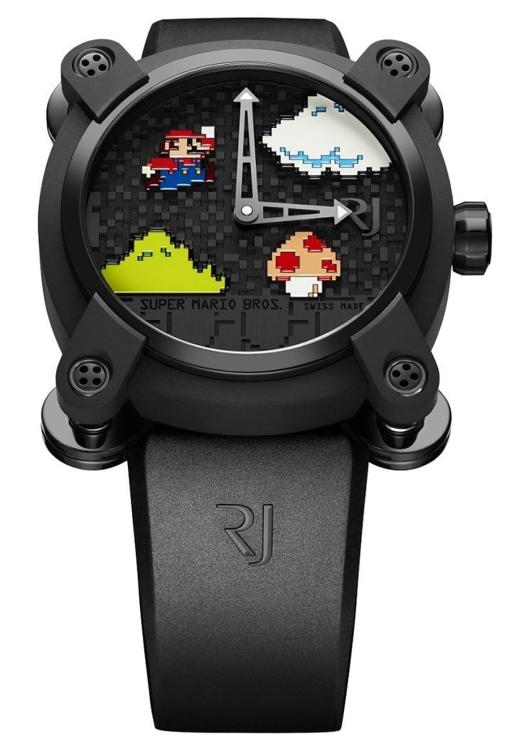 Romain Jerome ha realizzato uno speciale orologio di Super Mario in vendita a 19.000 dollari