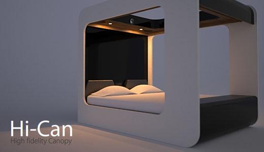 Il letto più multimediale del mondo