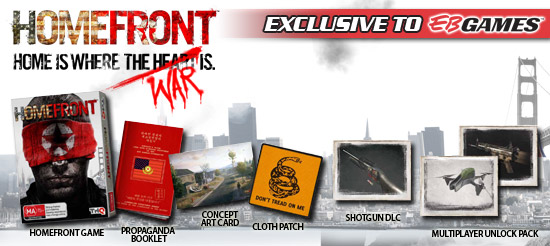Homefront: una collector's edition australiana