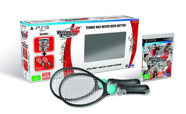 Virtua Tennis 4: contenuti esclusivi per la versione PS3