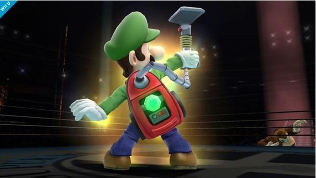 Super Smash Bros: un'immagine per Luigi
